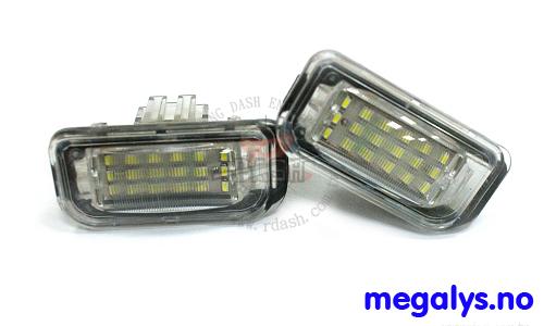 LED Skiltlys Mercedes C-Klasse W203