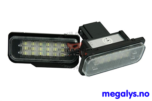 LED Skiltlys Mercedes E Klasse W211 W203 W219