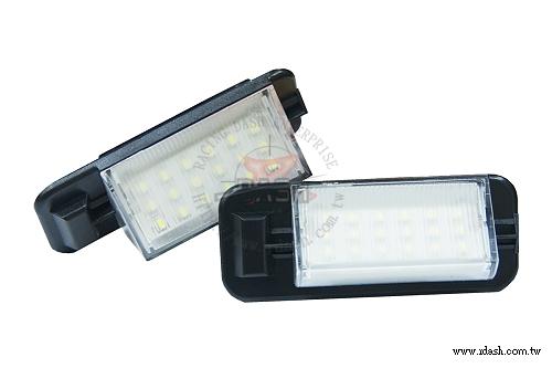 LED Skiltlys BMW E36