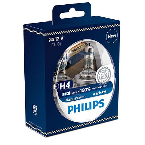 philips h4 racingvision 150. Black Bedroom Furniture Sets. Home Design Ideas