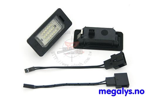 LED Skiltlys Mini Cooper R50/R52/R53