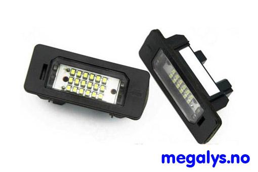 LED Skiltlys BMW E46 2D 04-06